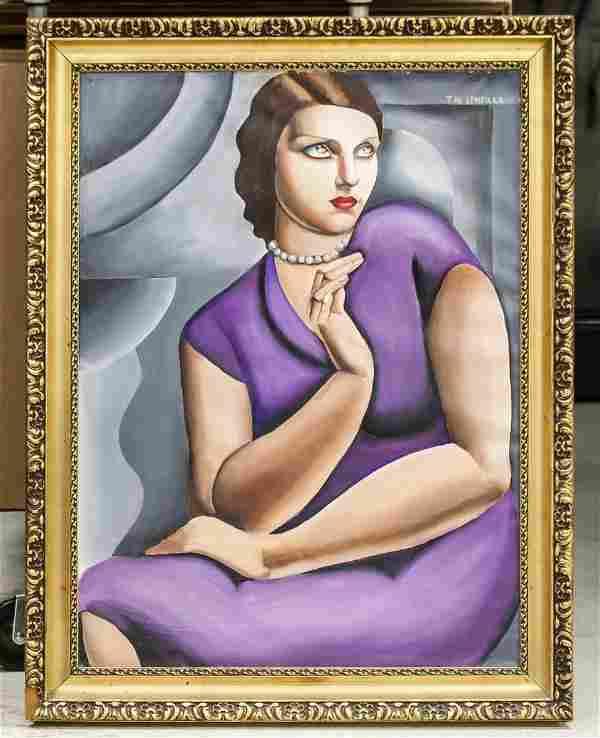 Tamara de Lempicka Polish OOC E. DAVID M. GARNIER