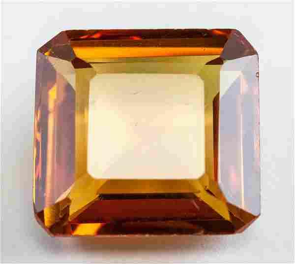 1145ct Emerald Cut Yellow Natural Sapphire GGL