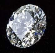 1.01ct Brilliant Round D Color VS2 Diamond NGIC
