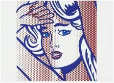 Roy Lichtenstein American Pop Signed Litho 4/200