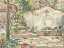 Edouard Vuillard French Modernist Oil on Board