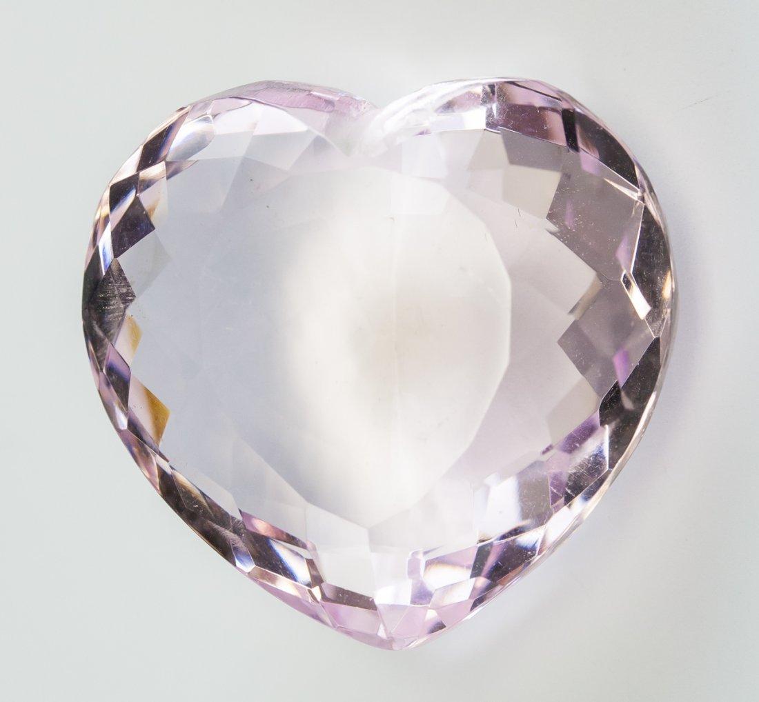 106.15 Ct Certified Light Pink Topaz