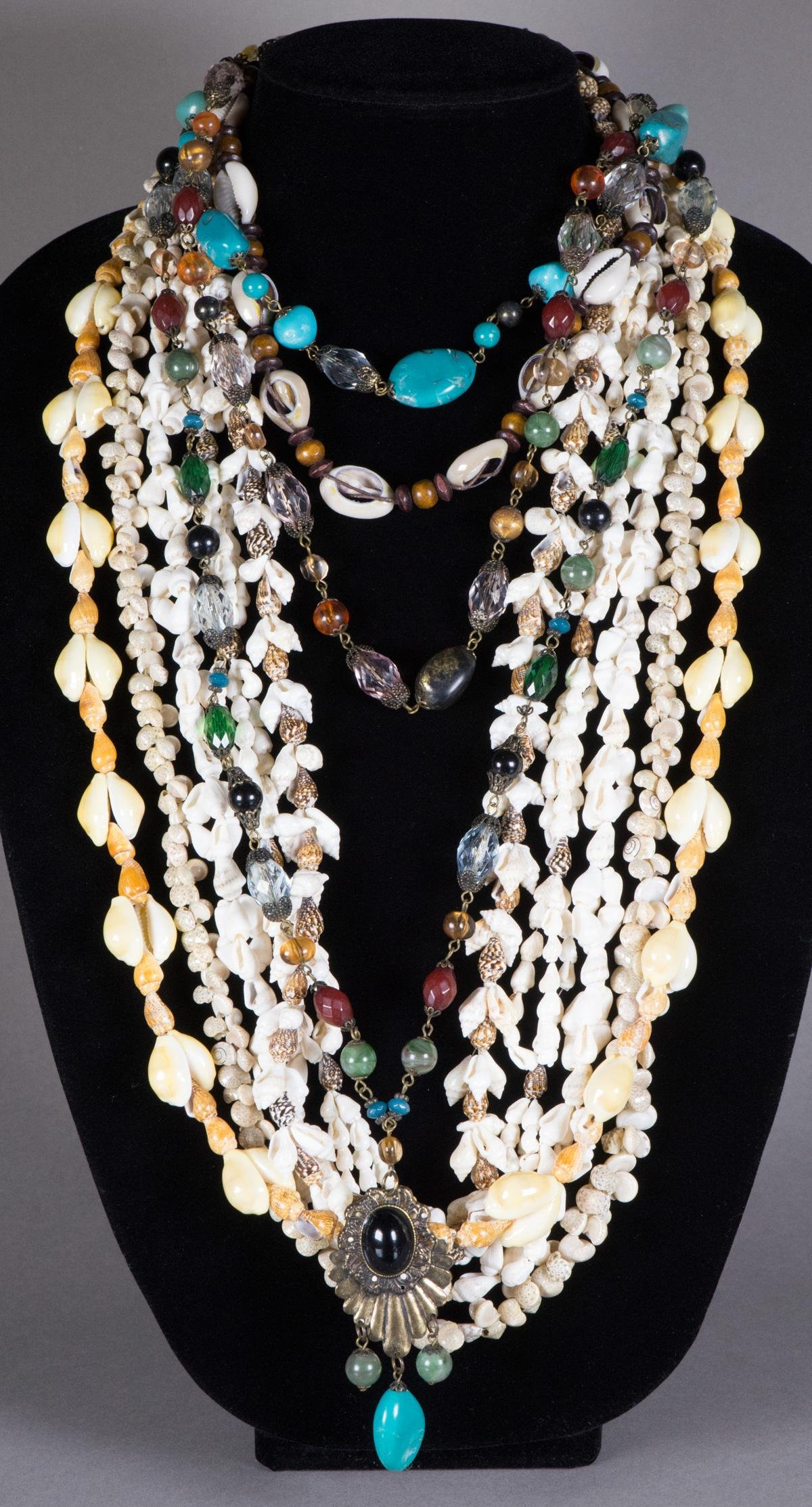 7 Pieces of Chinese Decorative Necklace