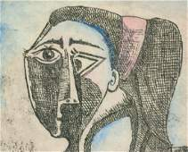 Pablo Picasso Spanish Signed Litho on Paper Z/A