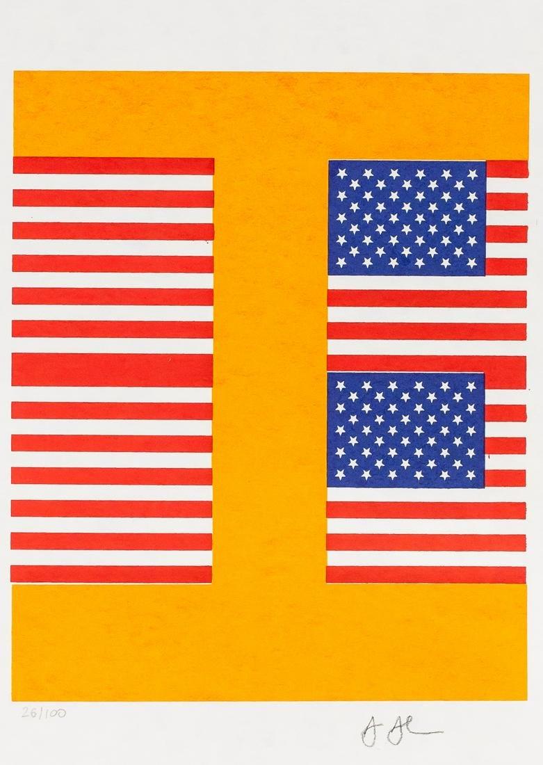 Jasper Johns American Signed Lithograph 26/100