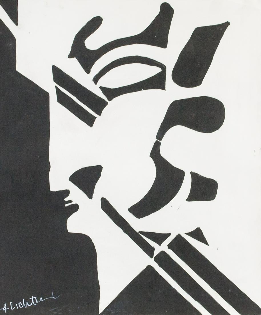 Roy Lichtenstein American Pop Oil on Canvas