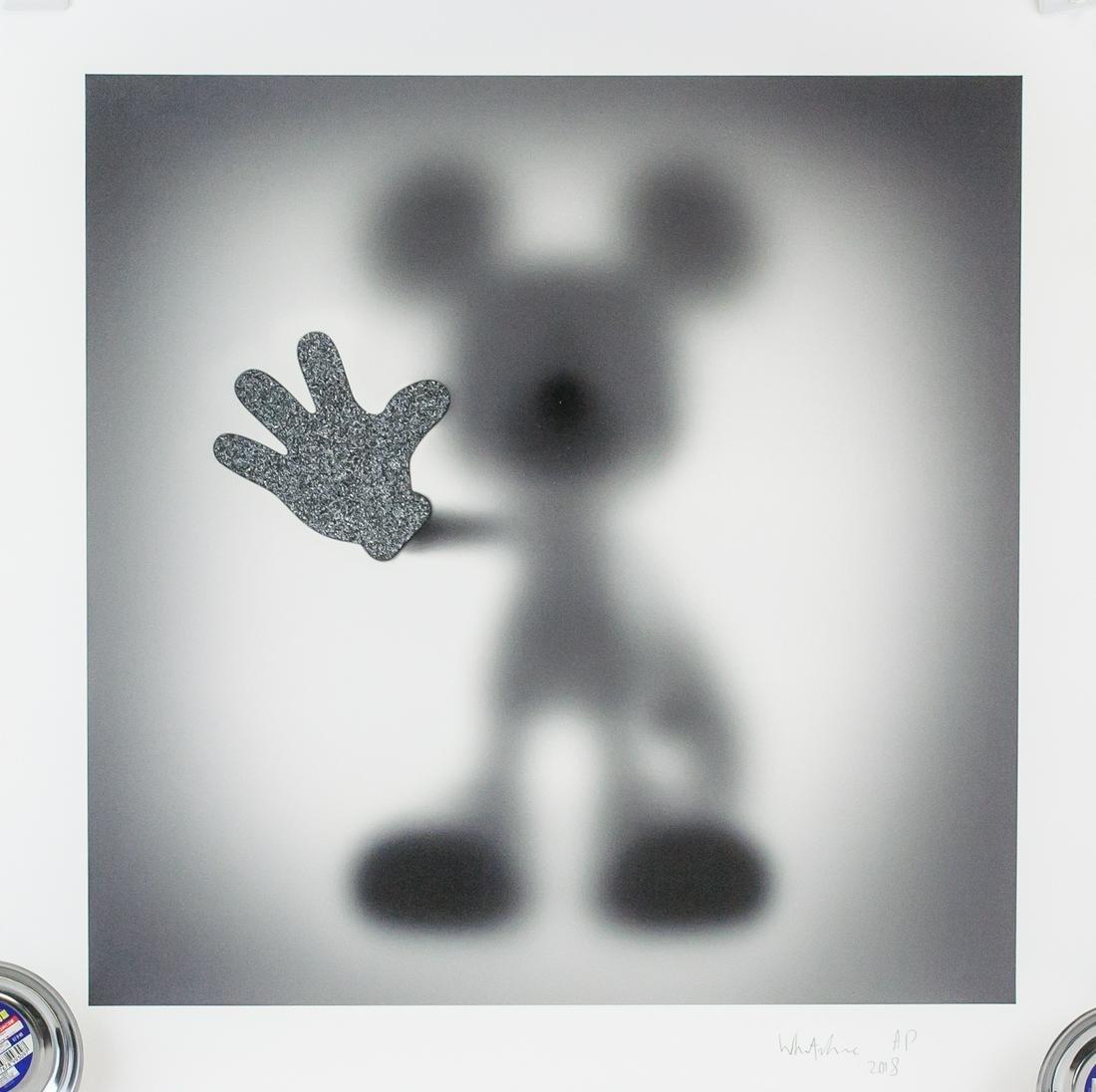 Sebastian Burdon Mickey Signed Litho  AP 2018