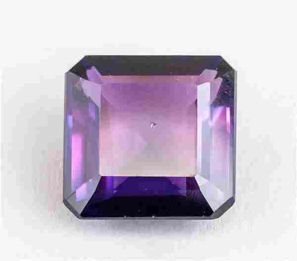 8.10ct Emerald Cut Purple Natural Musgravite GGL