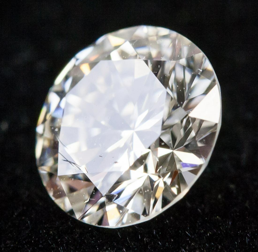 1.009ct Brilliant Cut I Color SI1 Diamond NGIC
