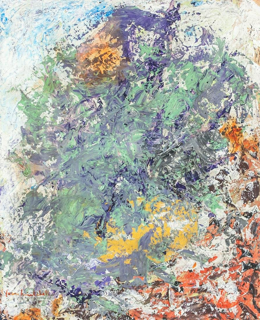Joan Mitchell American Expressionist Oil on Canvas