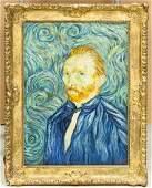 Dutch Oil on Canvas GALERIE GILBERT Signed Vincent