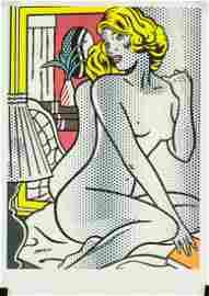 Roy Lichtenstein American Pop Signed Litho 1/140