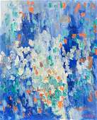 Joan Mitchell American Abstract Oil on Canvas 1952