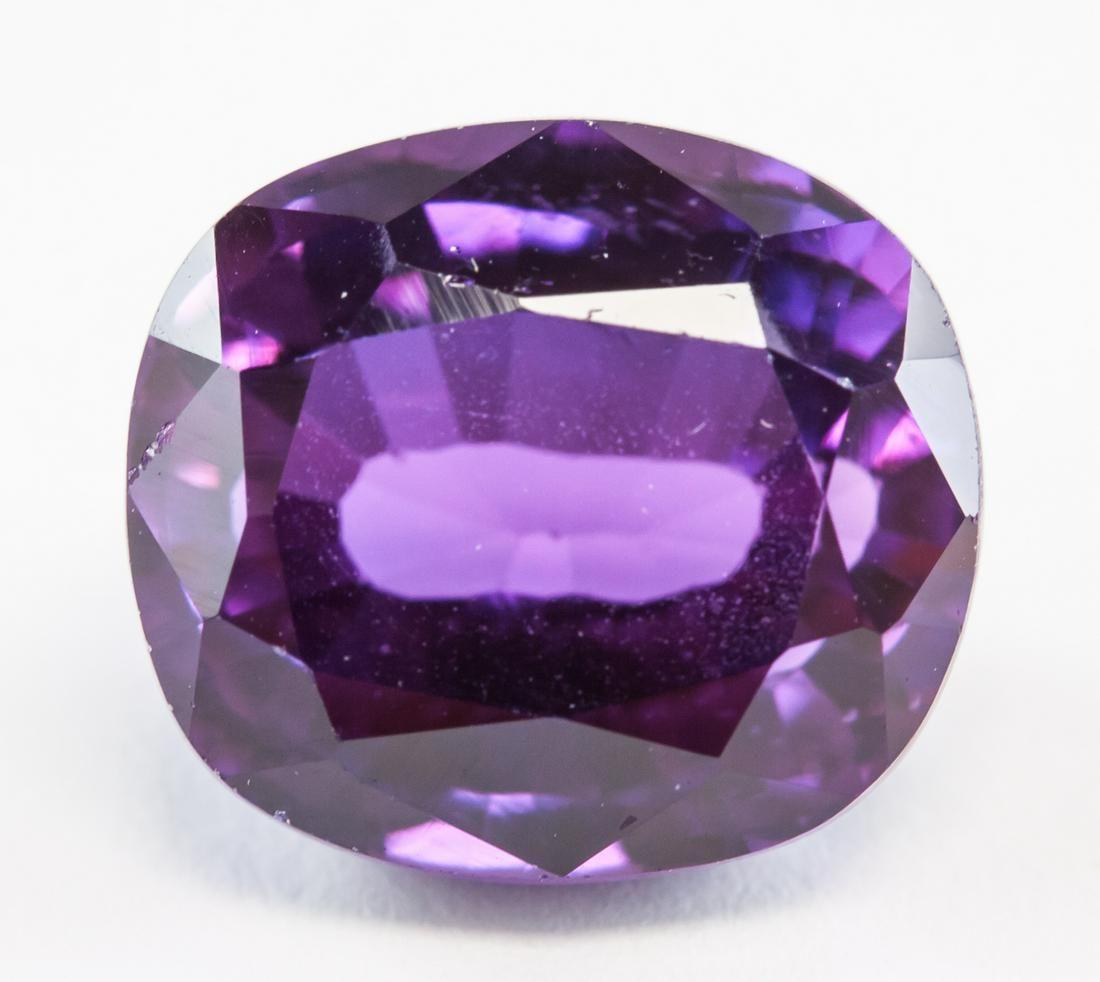 10.90ct Oval Cut Purple Natural Musgravite GGL