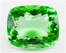 2305ct Cushion Cut Green Peridot GGL Certificate