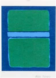 Mark Rothko American Signed Silkscreen 18/100