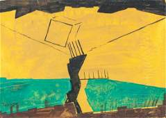 Lyonel Feininger German-American Oil on Canvas