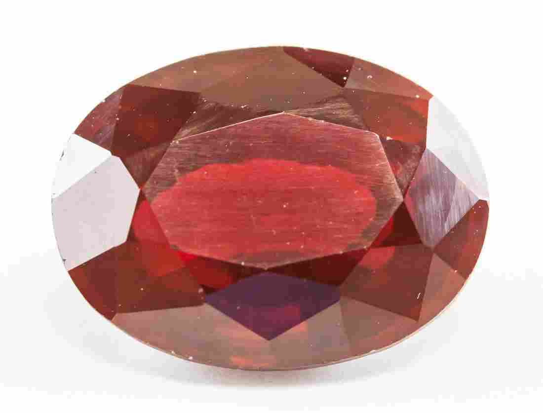 13.60ct Oval Cut Blood Red Natural Ruby GGL