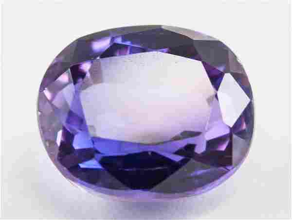 10.05ct Oval Cut Purple Natural Musgravite GGL