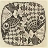 MC. Escher Dutch Signed Lithograph 95/100