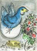 Marc Chagall RussianFrench Lithograph