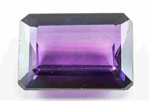 14.60ct Emerald Cut Blue Natural Alexandrite GGL