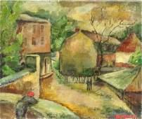 David Bomberg British OOC 1935 Galerie Mathais Fel