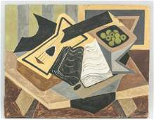 Georges Braque French Oil Canvas Galerie Beyeler