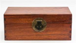 Chinese Huang Huali Wooden Box
