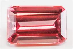 945ct Emerald Cut Pink Natural Spinel GGL