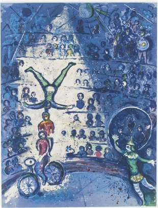 Marc Chagall Russian-French Signed Litho 36/150