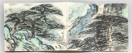 Li Xiongcai 1910-2001 Chinese Watercolor Landscape