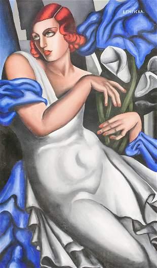 Tamara de Lempicka Polish OOC GALAERIE DU LUXEMBOU