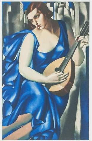 Tamara de Lempicka Polish Signed Litho 22/100