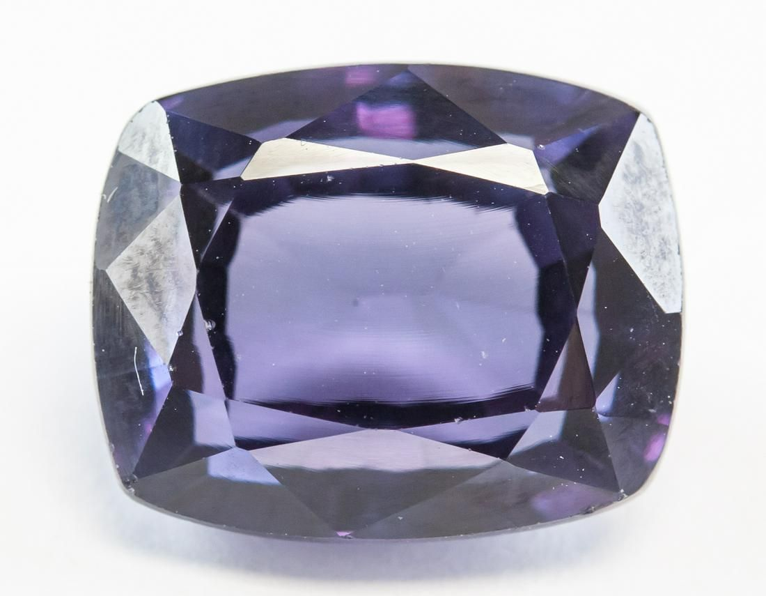 11.50ct Cushion Cut Purple Natural Musgravite GGL