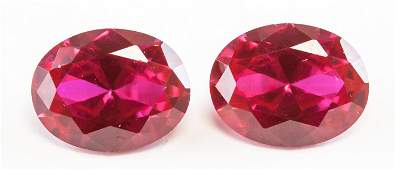 435ct Oval Cut Pinkish Red Natural Ruby GGL