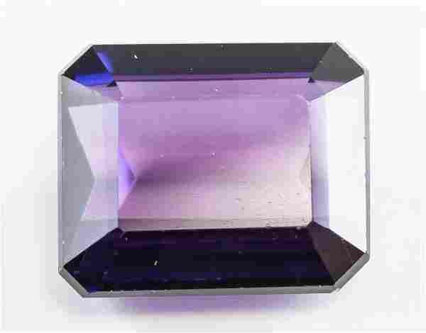 9.95ct Emerald Cut Purple Natural Alexandrite GGL