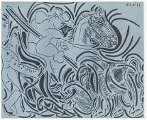 Pablo Picasso Spanish Signed Litho on Paper 6/100