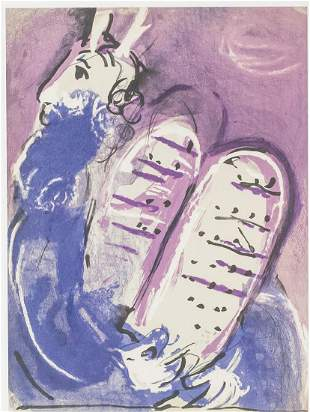 Marc Chagall Russian-French Signed Linocut 135/150