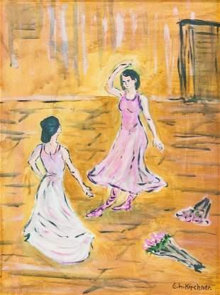 Ernst Ludwig Kirchner German Expressionist OOC
