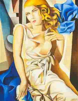Tamara de Lempicka Polish Oil on Canvas GALERIE SI