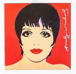 Andy Warhol American Signed Silkscreen Print