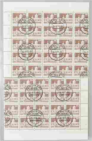 German 70 Pfennig First Day of Issue Stamp 1973