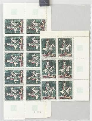 Luxembourg 3F Stamps 1894-1941 Joseph Kutter