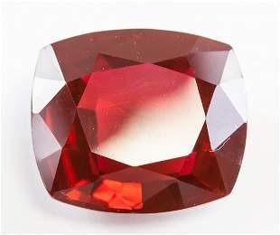 36.36ct Cushion Cut Red Natural Ruby GGL