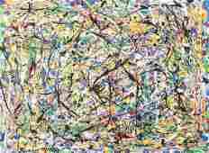 Jackson Pollock American Oil on Canvas