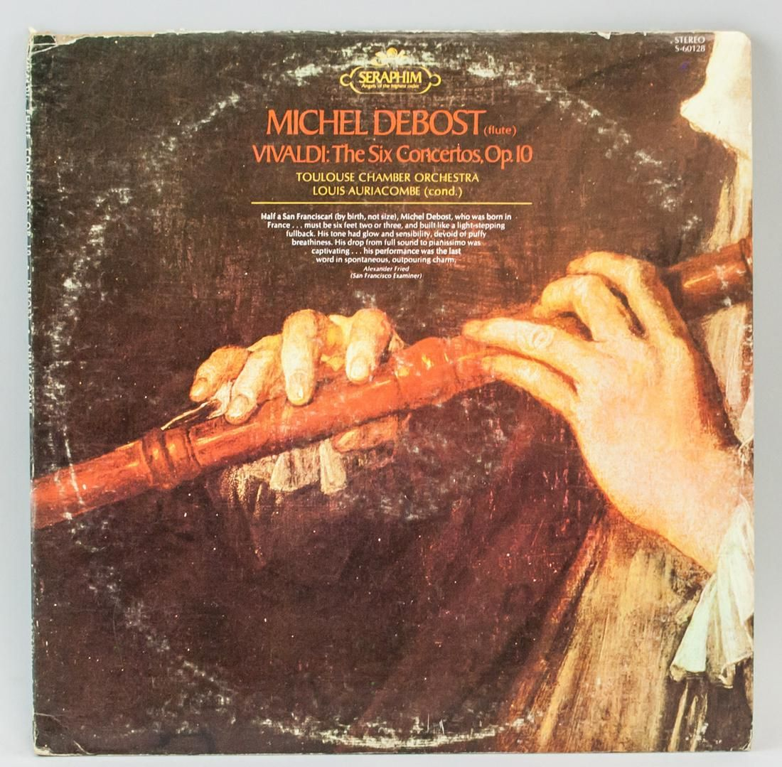 Michel Debost Vivaldi: The Six Concertos Op 10