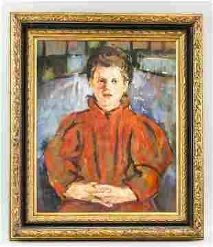 Olga Boznanska Polish Oil on Board MUZEUM NARODOWE