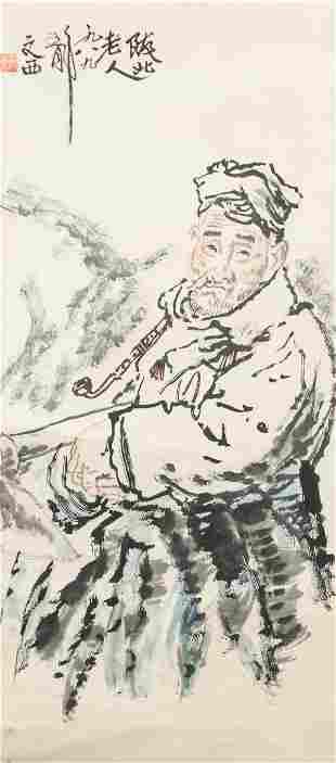 Liu Wenxi 1933-2019 Chinese Watercolor and Ink