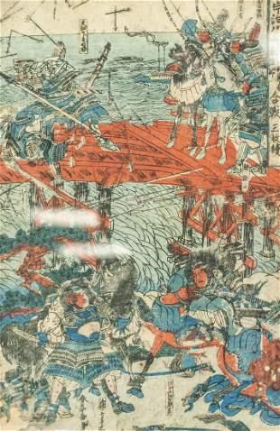 Katsukawa Shuntei Japanese Original Woodblock